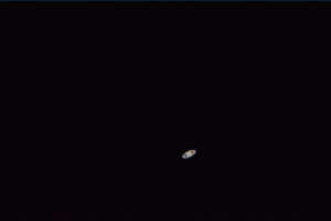 Screen shot video Saturne Maksutov